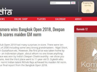 Bangkok Open 2018