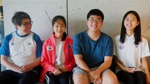 Meet the youngsters from South Korea!
