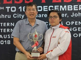 Dang Hoang Son wins Johor International Open 2018