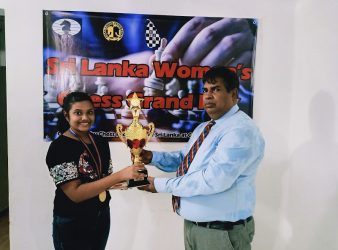 Sanudula Dahamdi Wins 2nd Sri Lanka Women's Chess Grand Prix 2021
