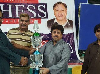 Dr Muhammad Ayoub Wins CM Mir Balak Sher Invitational