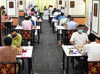 Indian IMs Sankalp and Guha Lead Joytu Sheikh Hasina International Grandmasters Chess Tournament 2021