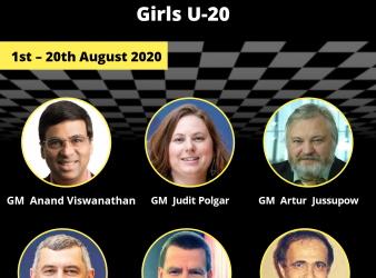 Asian Online Chess Camp for Girls Under-20.