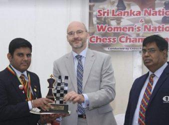 Ranindu and Nethmi, King and Queen of Sri Lankan Chess
