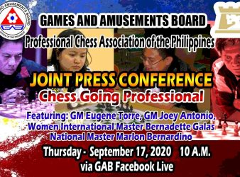Professional Chess Association of the Philippines is Born