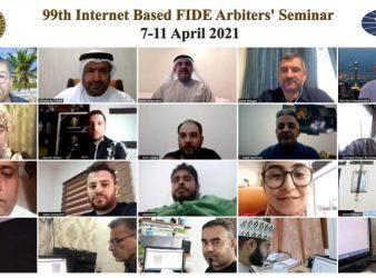 Arabic FIDE Arbiters Seminar Concluded